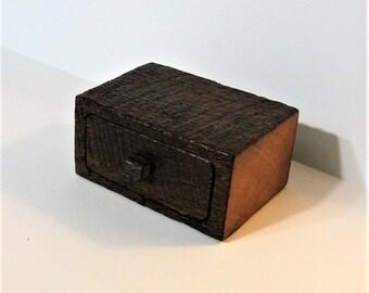 Barn Wood Treasure Box With Secret Drawer