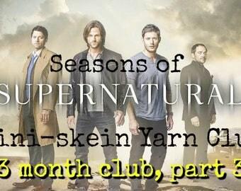 3 month Seasons of Supernatural Mini-skein club