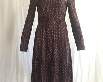 Diane Von Furstenberg Chocolate Brown Jersey Dress