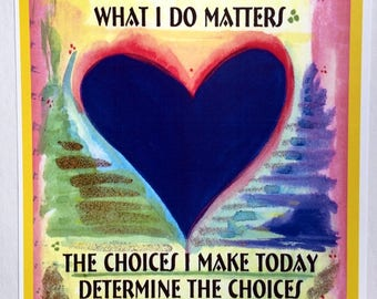Who I Am What I Do MATTERS Lesson Plan TEACHER CLASSROOM Motivation Children Recovery Mindful Inspiration Heartful Art by Raphaella Vaisseau