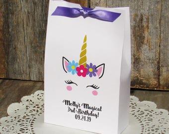 Unicorn Favors - Unicorn Party Favors - Unicorn Favor Boxes - Unicorn Party - Unicorn Candy Boxes - Unicorn Birthday Favors