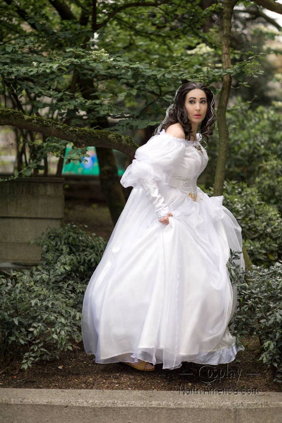 Masquerade Ball Wedding Dress
