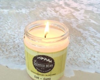 Sun & Sand Soy Candle