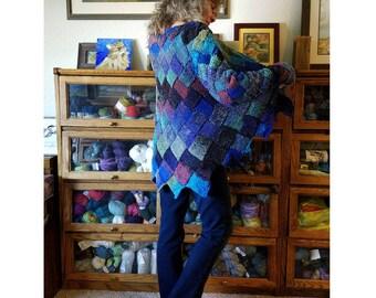 Entrelac Knitting Pattern