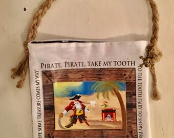 Tooth Fairy Pouch - Pirate