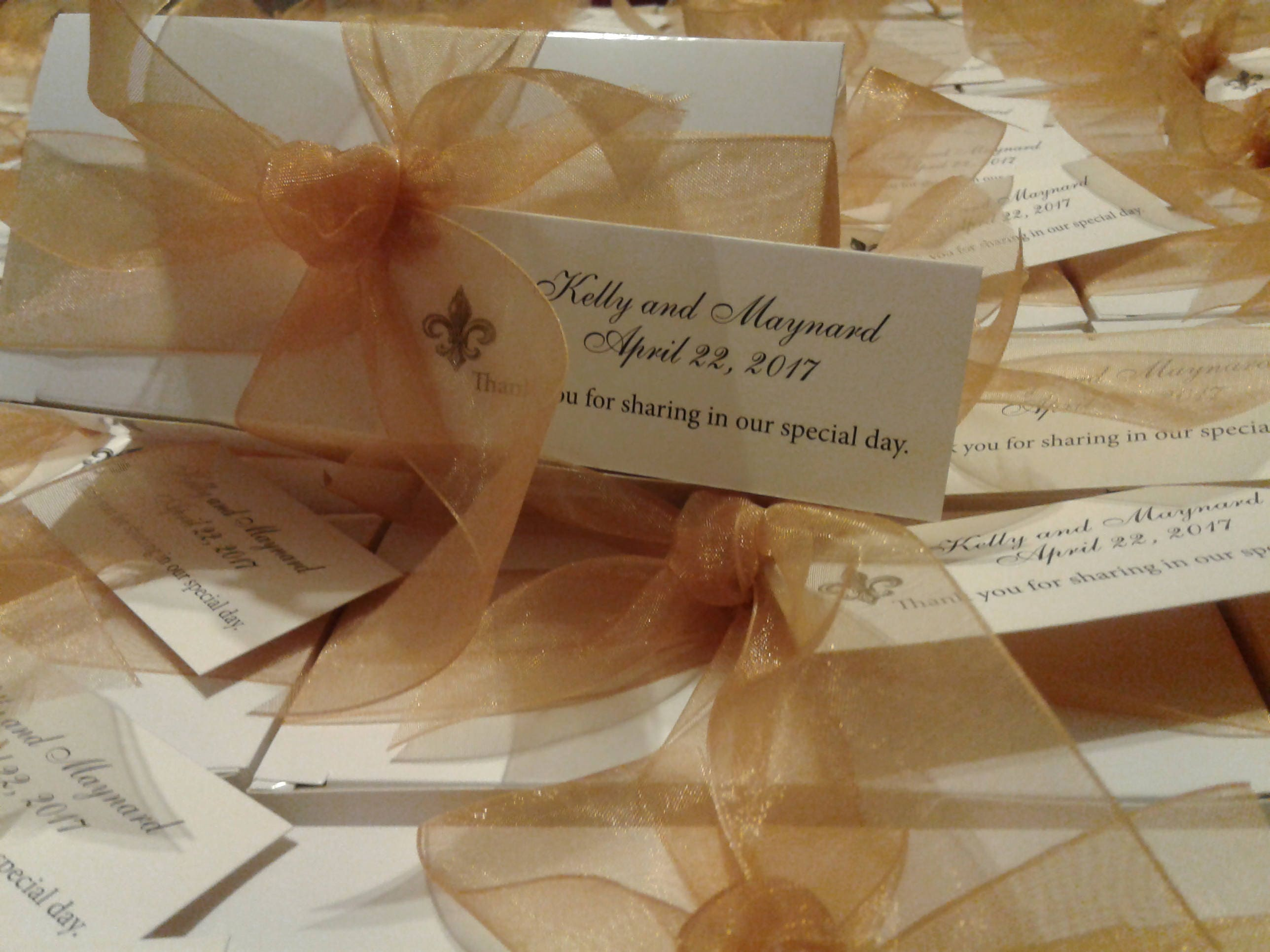 Elegant wedding favors for that very special day taste of new elegant wedding favors junglespirit Gallery