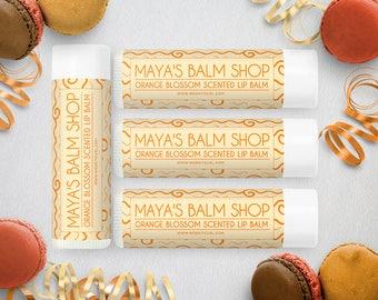 Lip Balm Labels - Lip Gloss Labels - Printable Lip Balm Labels - Label Design - Product Labels -  Lip Balm Label 3
