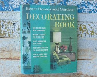 Vintage Decorating Book 1968 Better Homes and Gardens Retro Mid Century