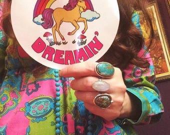 Unicorn / Keep Dreamin' Sticker / Unicorn Sticker/ Unicorn Gift/ Motivational Sticker / Inspirational Sticker / Gift For Her /Gift For Child