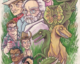 Jurassic Park Limited Edition Print