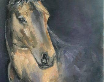Horse Soul painting Dutch origin original oil painting this is an example please don't purchase!