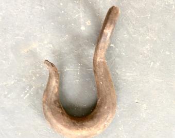 Antique Rustic Metal Hook