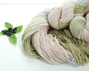 WOODLAND ROSE ~ Colours by nature ~ sock yarn plant dyed