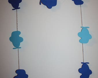 Airplane Die Cut - Paper Banner Garland