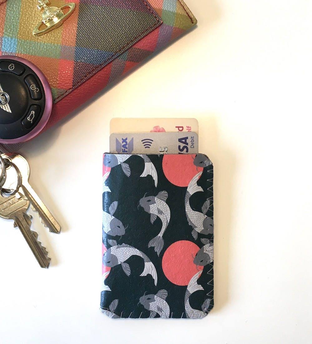 Chinese koi carp business card holderbusiness card case credit chinese koi carp business card holderbusiness card case credit card case oyster colourmoves