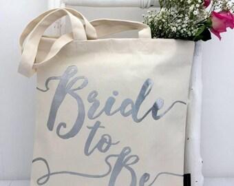 Bride To Be | Wedding Bag | Silver Wedding Bag | Bride Bag | Bride Gift