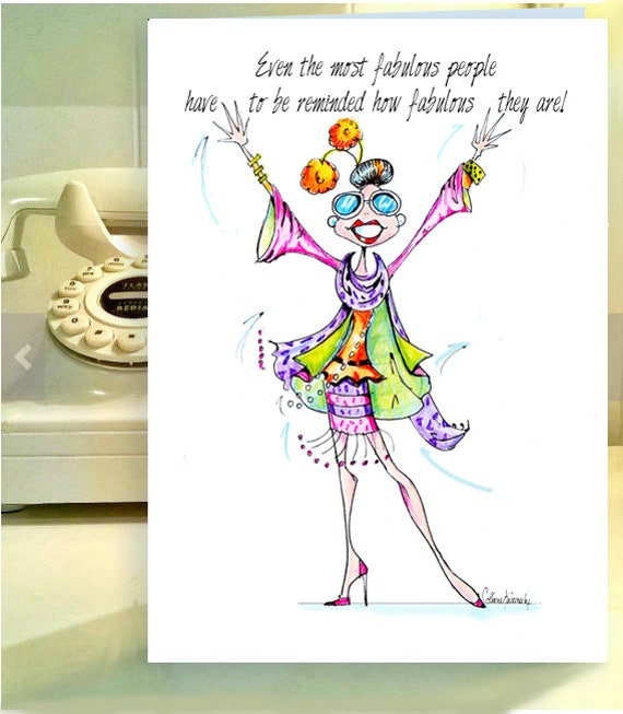 Funny Woman Birthday Cards Funny Birthday Card Women