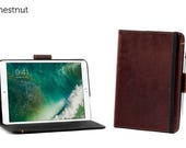 SECONDS - Oxford Leather iPad Pro 10.5 Case - Chestnut | Leather iPad Pro Case