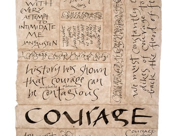 COURAGE Poster