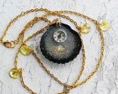 Compass Mermaid Pendant Jewelry necklce