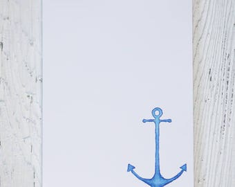 Anchors Aweigh Notepad