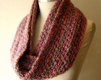 The Signature Series Infinity Scarf (Mini)   Coral Reef