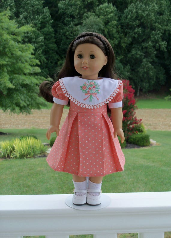 "SUPER SATURDAY SALE!   18"" Size /Embroidered School Dress  for 18"" American Girl® Dolls"