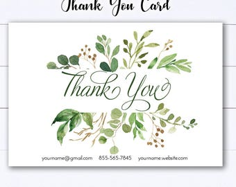 Personal Note Card - Printable - Digital - #803