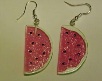 Dangle Watermelon Earrings  797 / Free Shipping within US