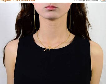 20% off. Long Bar and Chain Earrings. Bar Earrings. Geometric Earrings. Minimal Earrings. Mixed Metal Options.