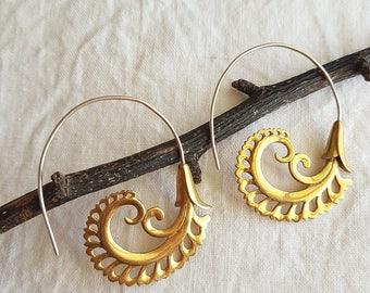 Fern Drop Earrings