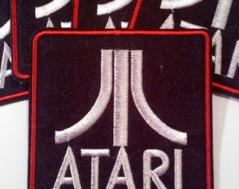 Atari Video Game Iron on Patch