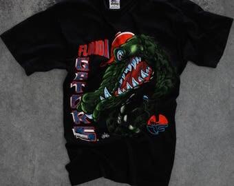 Vintage Florida Gators T Shirt size LARGE | Oversized Football Boyfriend Tee Shirt 1990s
