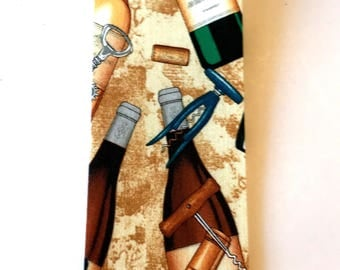 Wine Ribbon, Corks and Corkscrew, Chardonney wine, Gold, Brown, Green, 3 YARDS, 2 1/2 in. wide, Party Ribbon, Gift Basket Ribbon, Wreaths