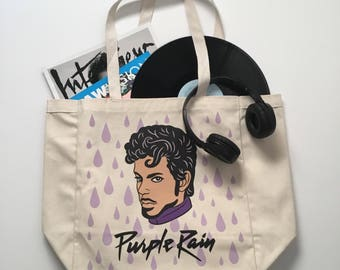 Prince Tote Bag, Market Bag, Canvas, Gift (TOTE4)