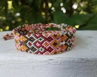 My Shot Hamilton Inspired Friendship Bracelet