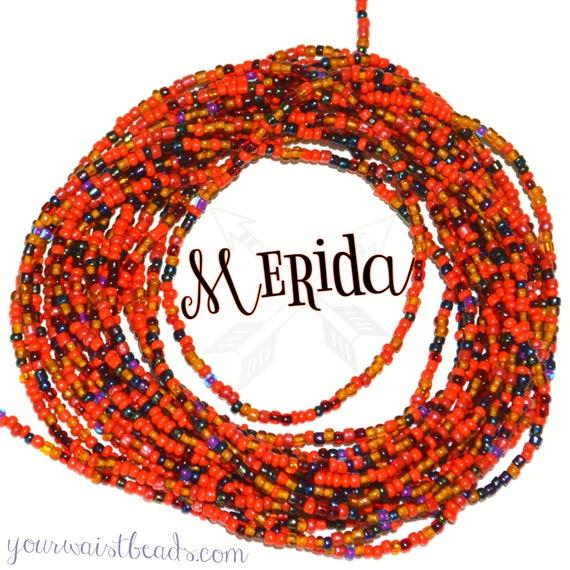 Waist Beads Custom fit ~Merida ~ YourWaistBeads.com