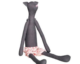 PreOrder Tilda Harvest Pre-Made Cat Friend Plushie Stuffed Animal Doll for Dressing in the United States