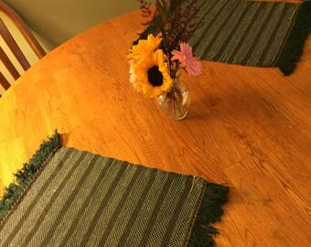 Handwoven Placemats, set of 4