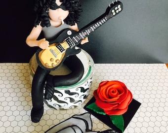 Slash Cake topper