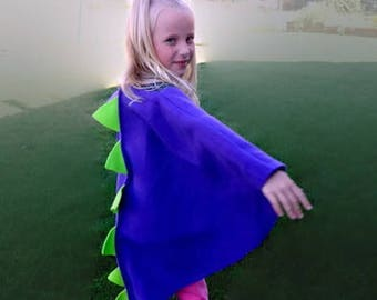 Blue with Green Dragon| Dinosaur Costume | Child | Baby| Adult