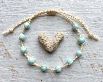 beach bracelet, beach jewelry, boho style, gift for her