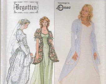 Sweet Fantasy Dress Pattern Simplicity 8623 Sizes 12-16 Uncut