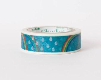 Kawaii Japanese washi tape - Rainbow by Shinzi Katoh