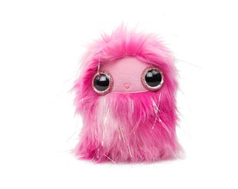 Glittery Pink Nugget Cool Critter