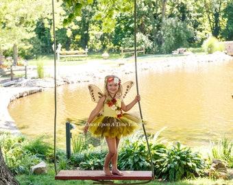 autumn woodland fairy tutu dress newborn 3 6 9 12 18 months 2t 3t 4t