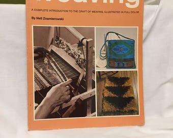 Step by Step Weaving by Nell Znamierowski (pb, 1967)