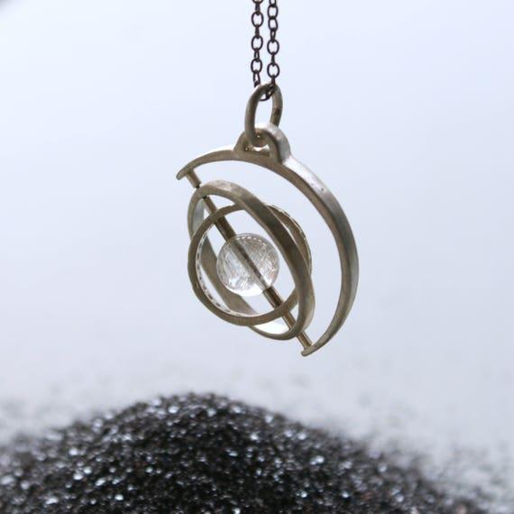 Gyroscope 3.0 - sterling silver