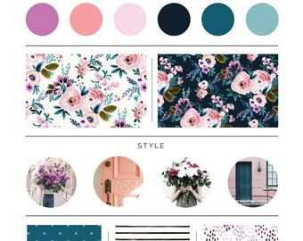 Victoria Floral Bedding. Baby Bedding. Floral Baby Bedding. Orchid Baby Bedding. Crib Sheet. Crib Skirt. Teal Baby Bedding.