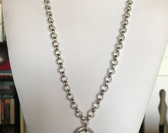 Swarovski Teardrop Sterling Silver Necklace